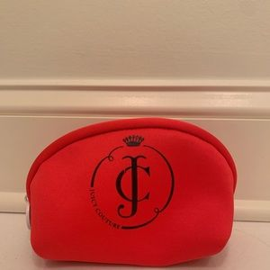 Juicy Couture Coral Cosmetic Case